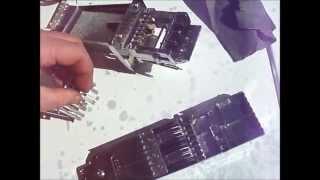 Stuck coin  op slider repair