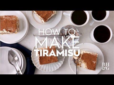 How to Make Tiramisu   Basics   Better Homes & Gardens