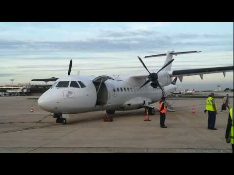 ATR 42-300 CS-DTO Chalair [first flight Lannion to Paris Orly operated by Chalair]