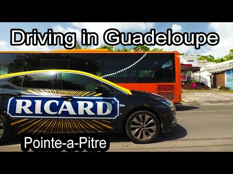 Guadeloupe 2017 - Drive to Pointe-a-Pitre