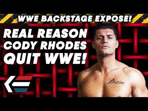 Real Reason Cody Rhodes QUIT WWE In 2016! | WWE Backstage Expose!