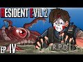 Resident Evil 2 - SEWER MONSTERS WANT TO EAT ME! Ep. 4
