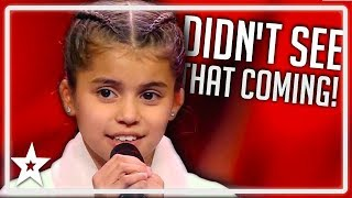 Download lagu Judges Are SHOCKED After Girl Runs Off Stage on Germany s Got Talent Kids Got Talent