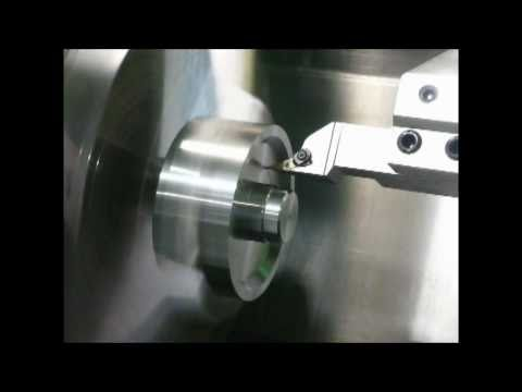 Mitsubishi Materials 25 Degree Turning System Finish Face Profiling
