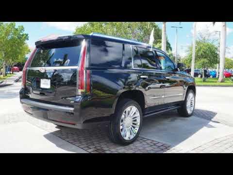 Certified Cadillac Escalade Sunrise FL Miami FL HRA - Cadillac dealer miami