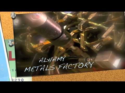 ALHAMY  metals factory مصنع الهامي للمعادن