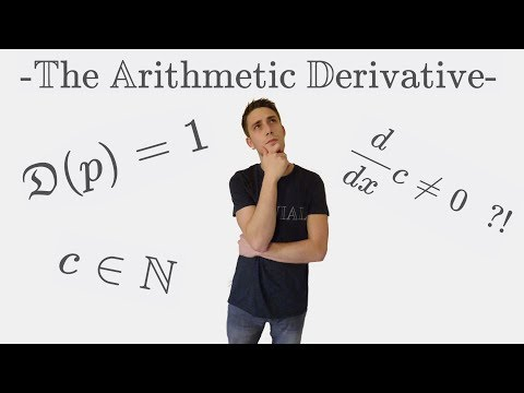 SO COOL!!! The Arithmetic Derivative: How to DIFFERENTIATE Numbers
