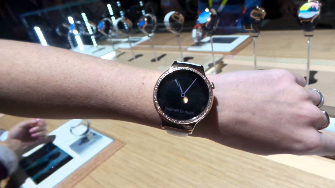 Hands On With the Huawei Watch Elegant and Jewel