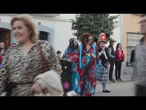 Santa Marta.Desfile De Carnaval En Calle Badajoz 1º.22-2-2020