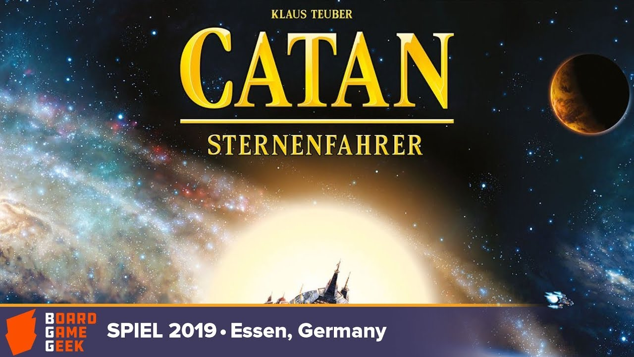 Download CATAN Starfarers - game overview at SPIEL 2019