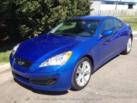 2011 Hyundai Genesis Coupe 2.0t Walkarond, Start Up And Tour
