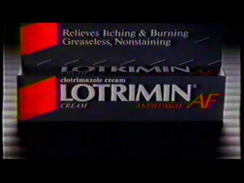 Lotrimin AF – Tv commercial – 1991