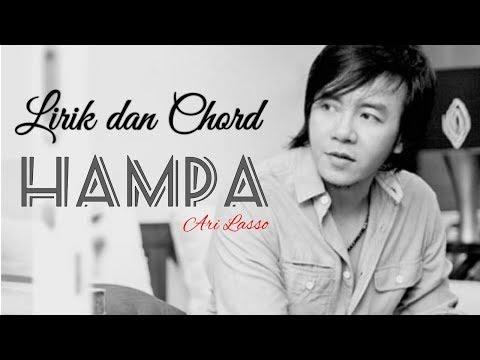 ARI LASSO - HAMPA | Lirik dan Kunci Gitar (Cover By Syahdan)