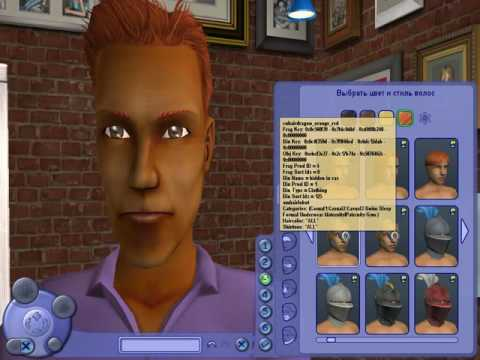 видео: Что можно сделать в sims 2 в редакторе персонажа с помощью кода разработчика?