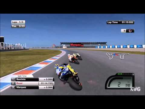 MotoGP 14 • Gameplay Marc Marquez Catalunya • PS4 PS3 P...   Doovi