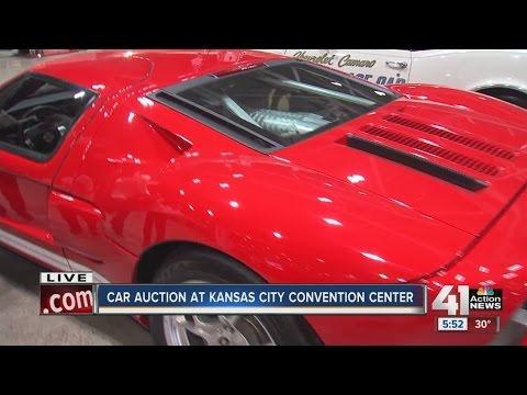 Car auction at Kansas City Convention Center