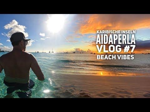 AIDA Vlog #7: Karibische Inseln mit AIDAperla - Badespaß auf Barbados