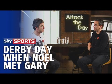When Noel Gallagher met Gary Neville to discuss the Manchester derby