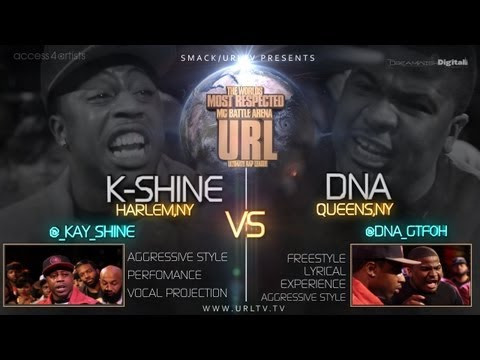 SMACK / URLTV PRESENTS DNA VS K-SHINE [FULL BATTLE]