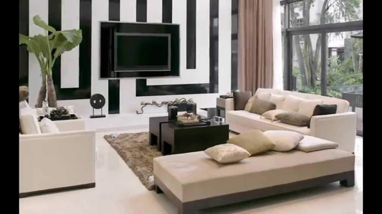 Best Living Room Designs India Apartment With Modern Furniture And Wallpaper On Budget