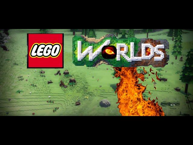 Trailer - A lenda do Dragão vermelho - (Lego Worlds)