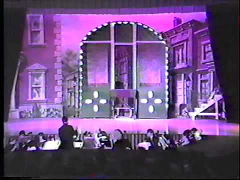 """Hello Dolly!"" at NHS in Muncie, Indiana 1988 (4)"