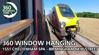 1S51 Cheltenham Spa to Birmingham New Street HST in 360º (View in 4K)