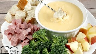 Swiss & Cheddar Cheese Fondue