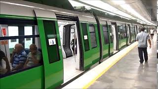 METRÔ DE FORTALEZA Estação José de Alencar e Parangaba Subway of Fortaleza City Brazil