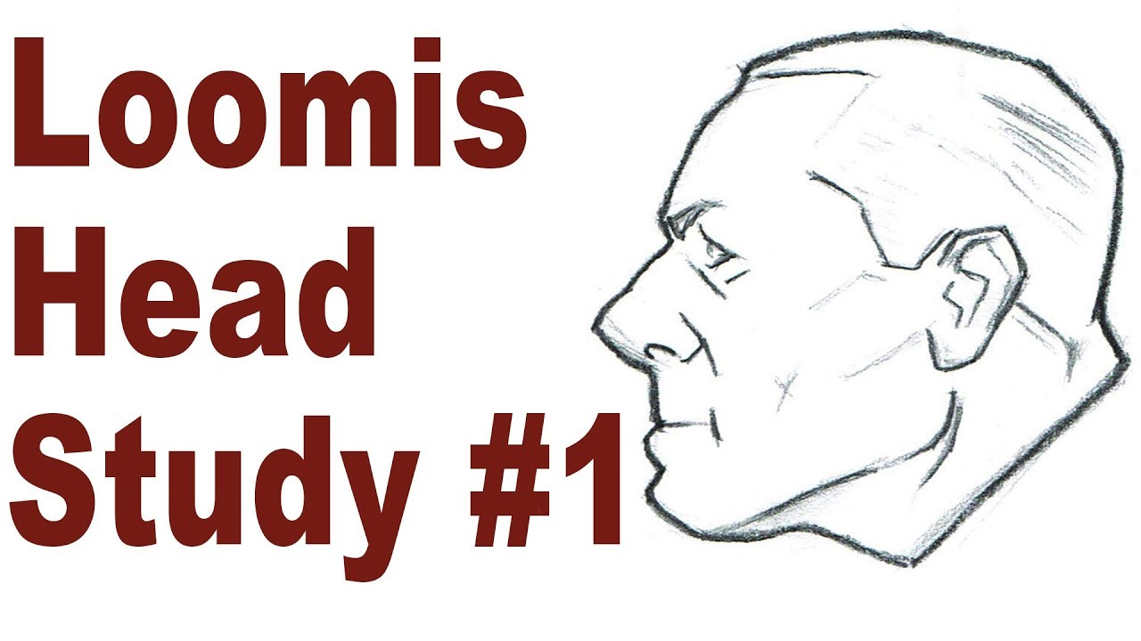 Simple Head Sketching Exercise - Andrew Loomis Drawing ...