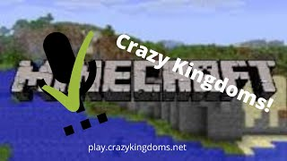 Never Before Known Secrets in CrazyKingdoms! VOICE REVEAL! Minecraft Server play.crazykingdoms.net!
