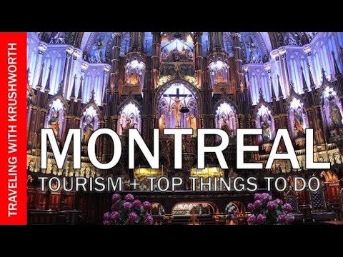 Montreal travel guide video (Quebec Canada tourism) | Montreal food tour (market)