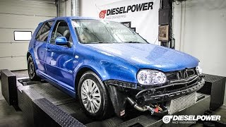 VW Golf IV  1.9TDI 116PS to 260PS by DIESELPOWER www.dp-race.com | DIESELPOWER race engineering