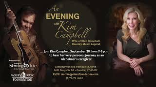 Kim Campbell, wife of Glen Campbell to Speak in Danville, Kentucky