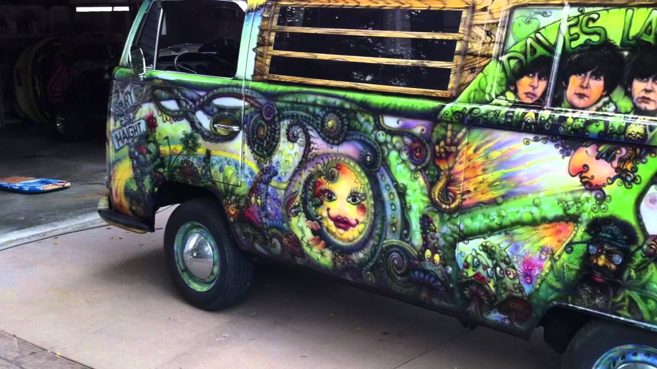 1969 vw hippy van youtube. Black Bedroom Furniture Sets. Home Design Ideas