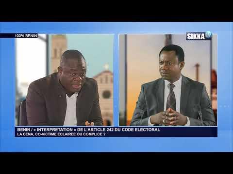 100% BENIN DU 15 02 19 / « INTERPRETATION » DE L'ARTICLE 242 DU CODE ELECTORAL