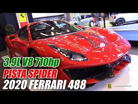 2020 Ferrari 488 Pista Spider  Walkaround  2020 Montreal Auto Show