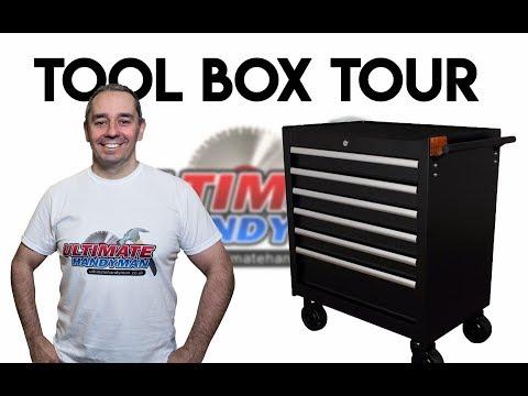 Ultimate Handyman site Tool box tour