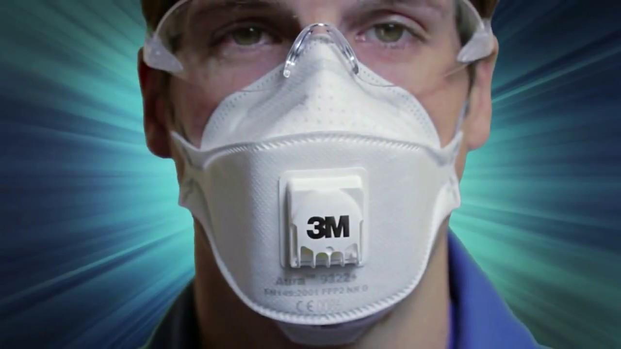 3m respiratore serie aura 9300