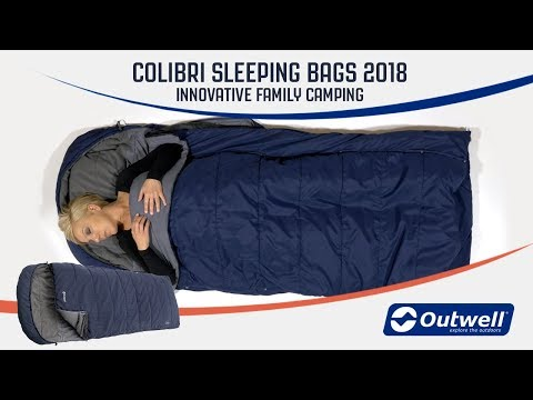 Colibri Sleeping bags 2018 | Innovative Family Camping