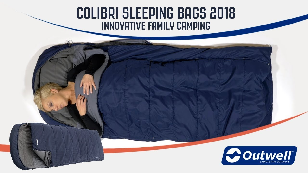 Colibri Sleeping Bags 2018 Innovative Family Camping