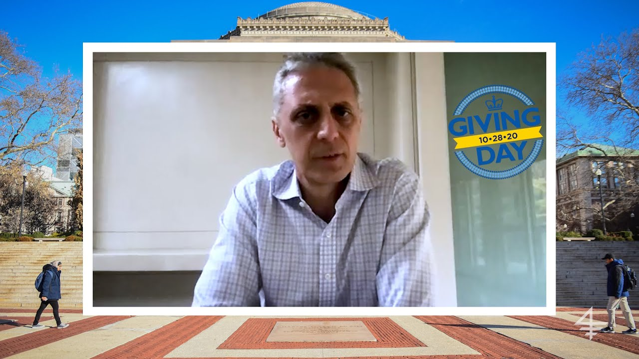 Columbia Giving Day 2020: Dean Costis Maglaras