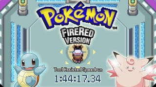 [TAS] GBA Pokémon FireRed in 1:44:17 by MKDasher