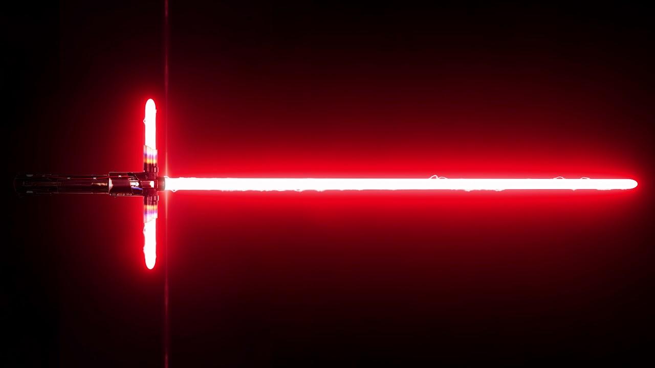 Kylo Ren S Lightsaber Ignition Video Live Wallpaper Youtube