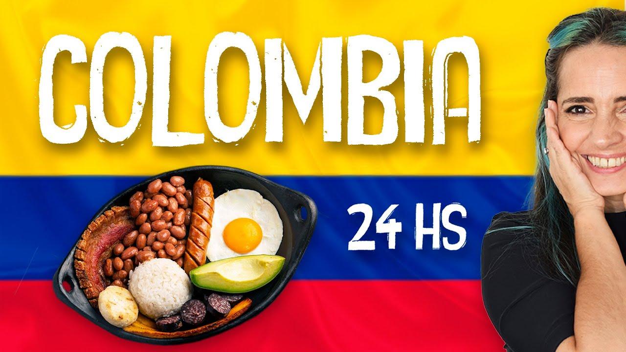 🇨🇴  24 Horas Comiendo Como En Colombia 🇨🇴 (Con Recetas De Comida Colombiana!)