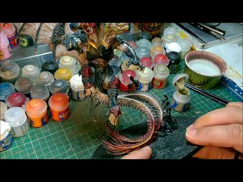 Warhammer, Age of Sigmar, Chaos, Painting Archaon Everchosen part 13
