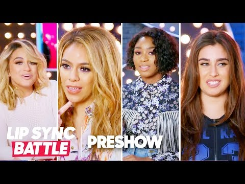 Fifth Harmony Are Ready to Battle Each Other! | Lip Sync Battle Preshow