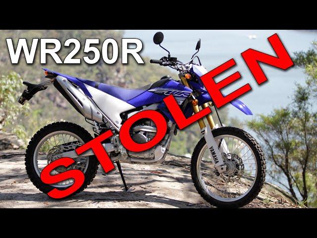My 2020 Yamaha WR250R Stolen....