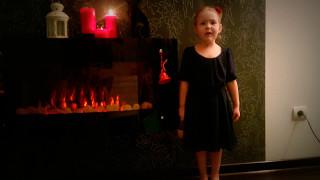 стихотворение БОРОДИНО,читает ребенок,АЛександрина 4 года