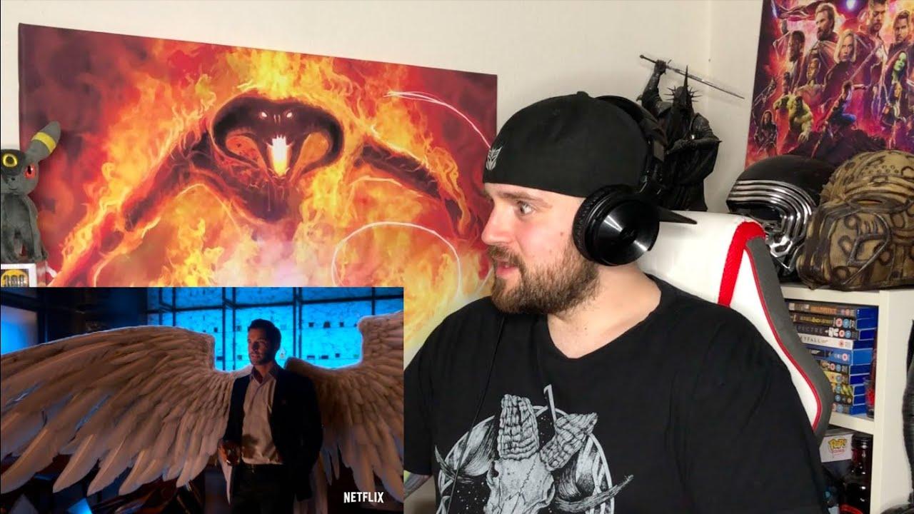 Lucifer Season 5 | Official Trailer - REACTION